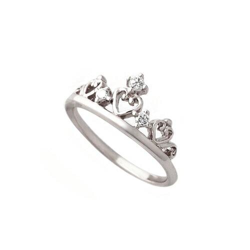 大東山珠寶 純銀甜心皇冠戒指 銀