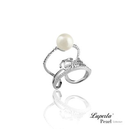 大東山珠寶 luperla:大東山珠寶Truth‧真實的妳純銀珍珠戒指