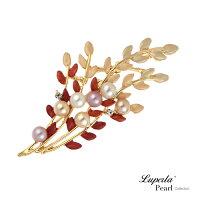 母親節禮物推薦大東山珠寶 珍珠胸針項鍊 南法風情 別針 領釦 圍巾提包裝飾