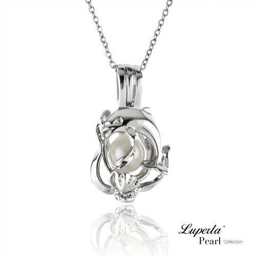 大東山珠寶 海洋之心 珍珠項鍊 歐美熱銷許願珍珠