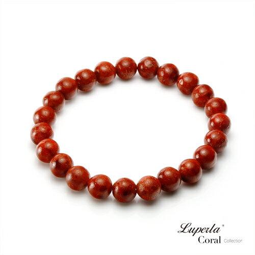 大東山珠寶 高雅玫瑰紅珊瑚手鍊