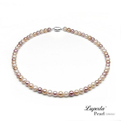 大東山珠寶 luperla:大東山珠寶天然淡水珍珠項鍊幻彩之星