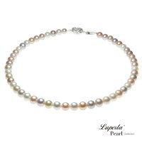 母親節禮物推薦大東山珠寶 8-8.5mm夢幻之星珍珠項鍊