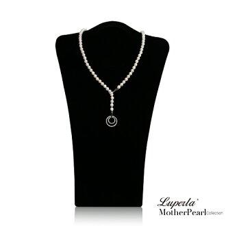 大東山珠寶 7mm南洋貝寶珠多層次變化款項鍊 經典白 設計師旗艦版