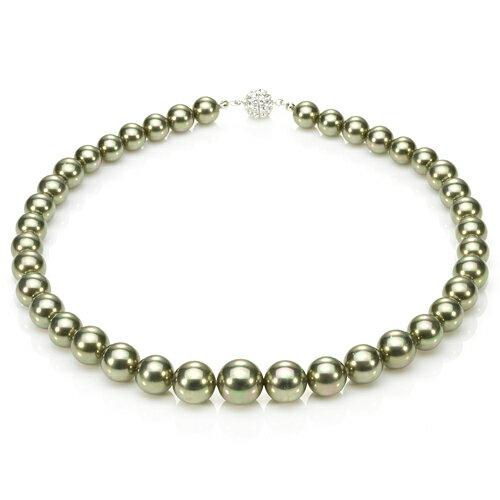 大東山珠寶 luperla:大東山珠寶南洋貝寶珠寶塔款項鍊套組秋香綠