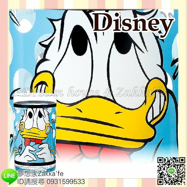 日本進口 Disney 迪士尼 唐老鴨 玻璃杯/水杯/果汁杯 《 日本製 》 ★ 夢想家精品家飾 ★