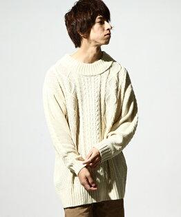 寬版素面毛衣1IVORY