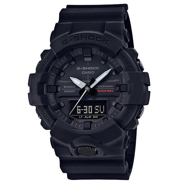 CASIOG-SHOCKGA-835A-1A週年宇宙大爆炸黑色調強悍腕錶黑色