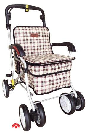 【銀元氣屋】銀髮族 銀髮健步車 F238