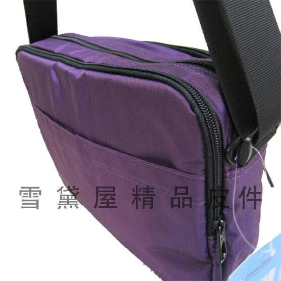 限時 滿3千賺10%點數↘ | ~雪黛屋~Hwa Guan 斜側包中容量主袋+外袋共四層超輕防水尼龍布二層主袋口外出隨身物品中性款男女適用HHG116