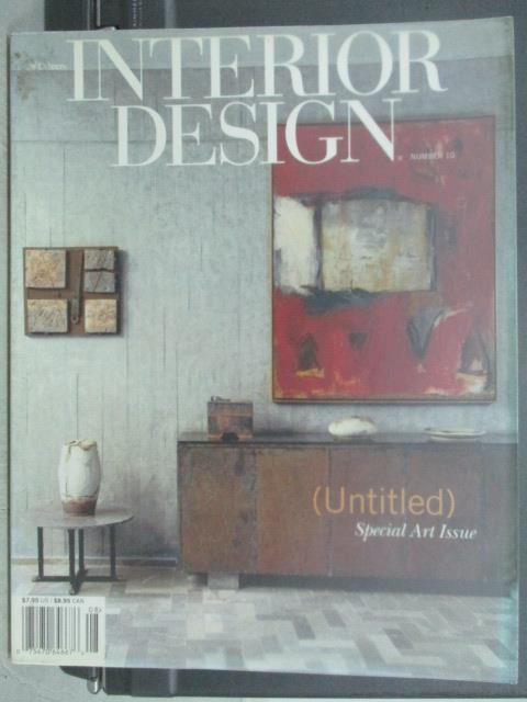 【書寶 書T5/ _YIP】Interior design_Special art lss