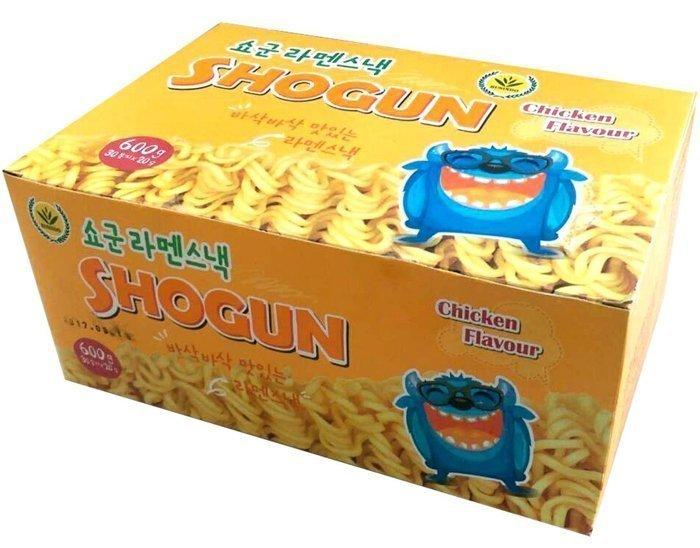 韓國SHOGUN怪獸脆雞汁點心麵30包入540g/8997024180370