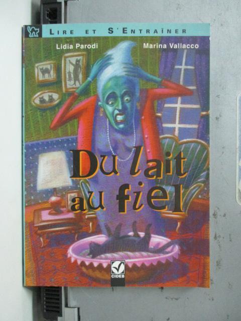 【書寶二手書T4/原文小說_NBQ】Du Lait Au Fiel_Marina Vallacco