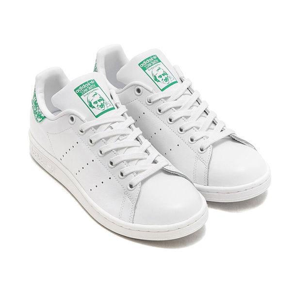 Adidas Stan Smith 女鞋 慢跑 休閒 經典 皮革 白 綠 【運動世界】 BZ0407