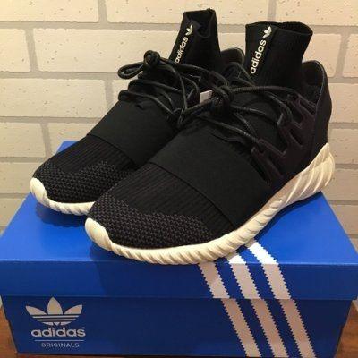 【蟹老闆】Adidas TUBULAR DOOM PK 全黑 襪套 奶油底 休閒運動鞋 少量現貨
