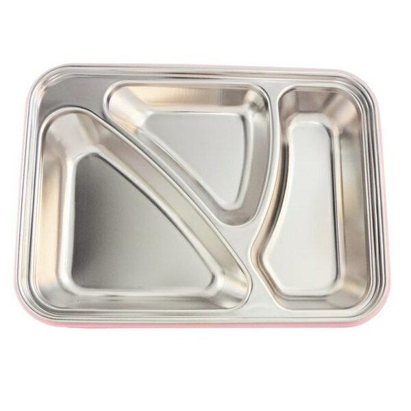 【安琪兒】美國Thinkbaby不鏽鋼餐盤組 4