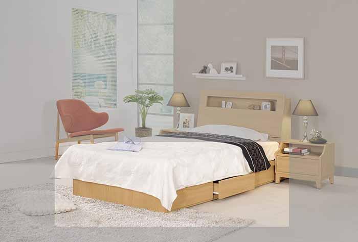 【尚品傢俱】CM-142-3 達拉斯3.5尺抽屜式床底