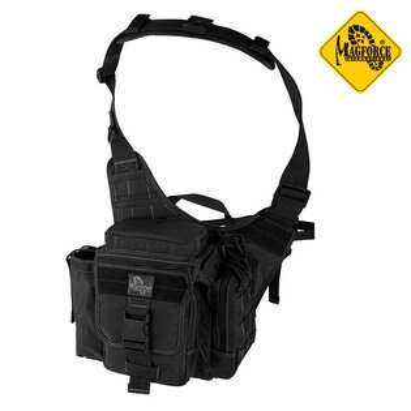 MAGFORCE警用超級鞍袋0414(黑色)城市綠洲(馬蓋先、軍規級、模組化、台灣製造)