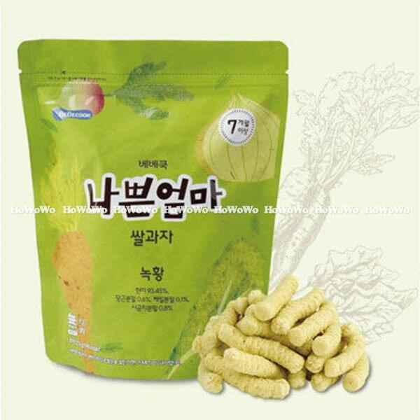 韓國 智慧媽媽 BEBECOOK 蔬菜米棒/米餅(7個月以上) BGB5082