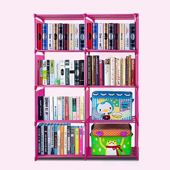 4 layer Adjustable Bookshelf 3