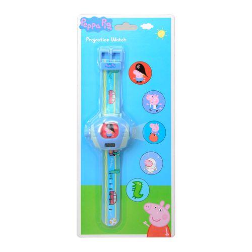 ★衛立兒生活館★【Peppa Pig】粉紅豬小妹 投影手錶-喬治(5種經典圖片)VP37054