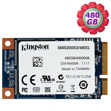 Kingston SSD 480GB MS200 mSATA【SMS200S3/480G】SATA 6Gb/s 固態硬碟