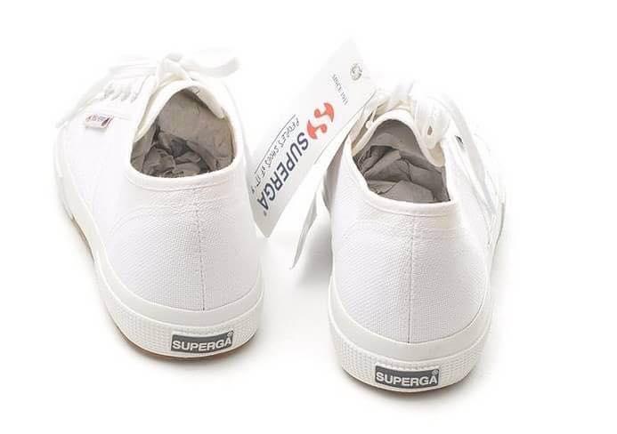 【Superga】2750plus 內增高\鬆糕鞋\義大利國民鞋 4