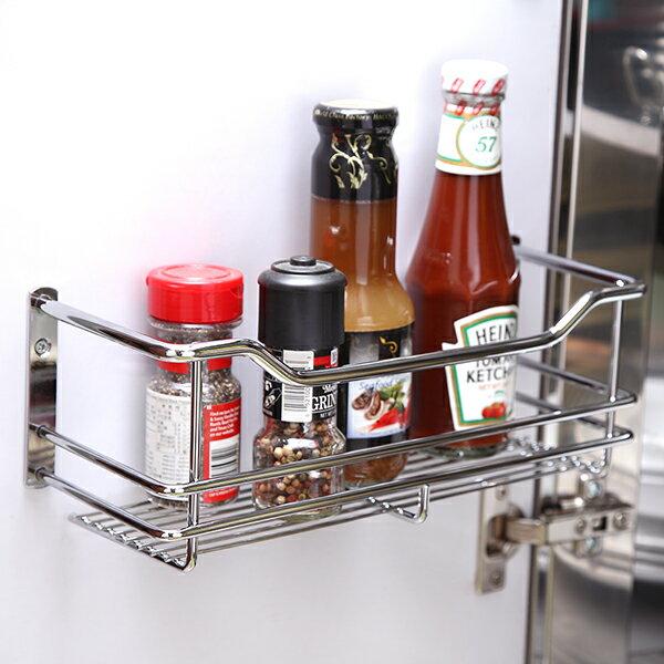 味罐架/置物架/廚房收納 不鏽鋼門後板瓶罐收納架 MIT台灣製 完美主義【D0050】