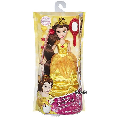 ~ Disney 迪士尼 ~公主裝扮頭髮遊戲組 ~ 貝兒