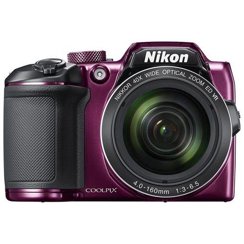 Nikon COOLPIX B500 16.0 Megapixel Digital Camera Plum 0