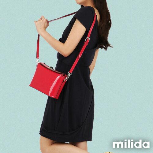 【Milida,全店七折免運】-春夏商品-造型款-甜美花苞洋裝 3
