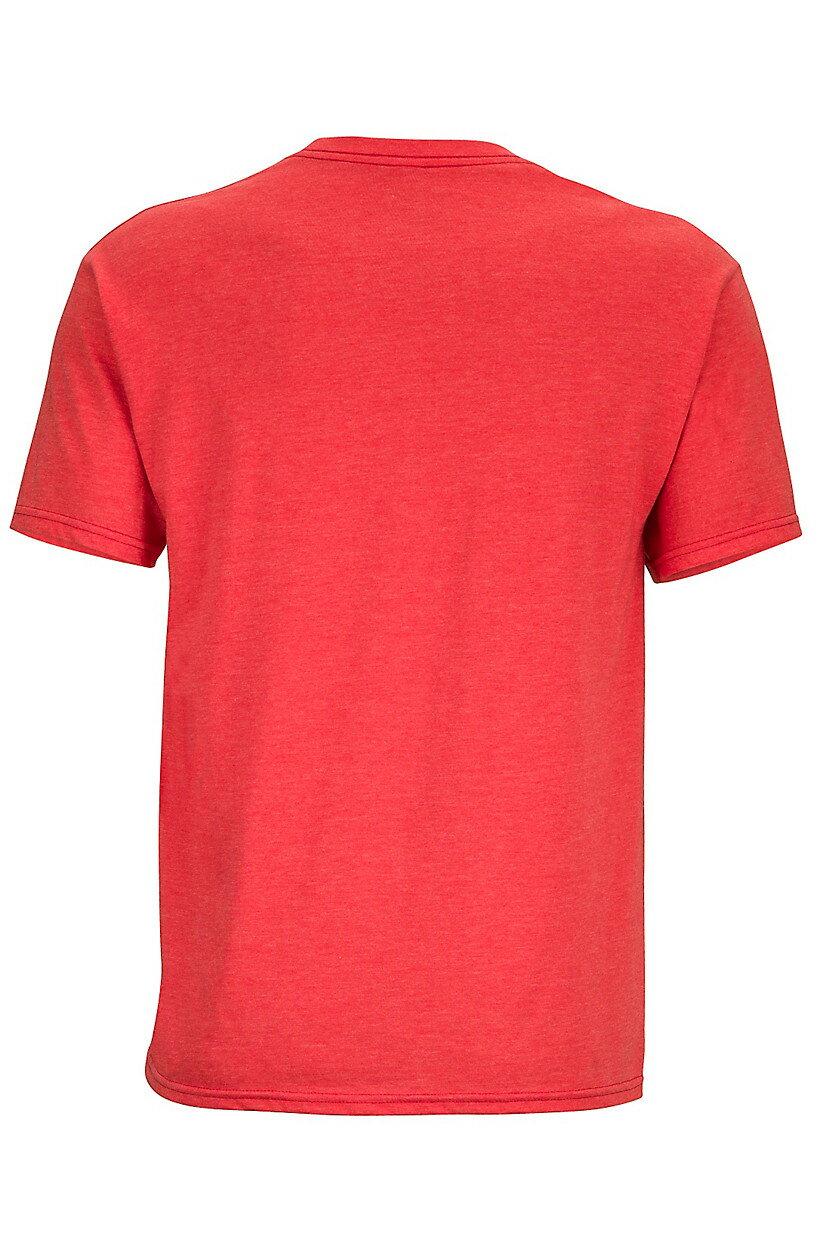 ├登山樂┤美國Marmot土撥鼠 Overhang 男款短袖混棉紡吸濕排汗衣 紅#59670-8554