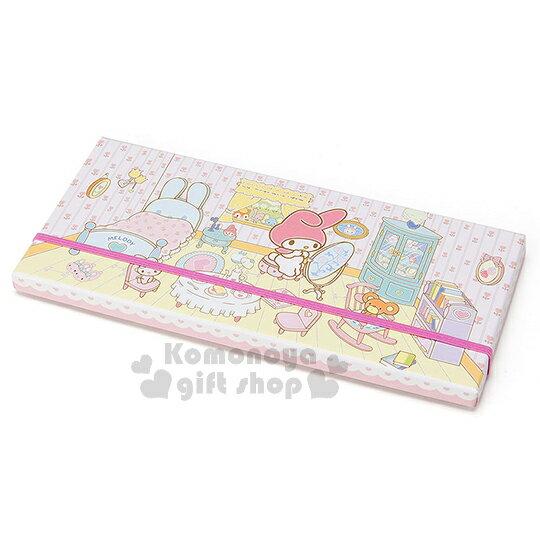 〔小禮堂〕美樂蒂 日製盒裝36色鉛筆《迷你.粉.房間.照鏡子.床》