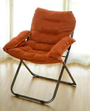 創意懶人單人沙發椅休閒折疊宿舍電腦椅家用臥室現代簡約陽台躺椅JD快樂母嬰