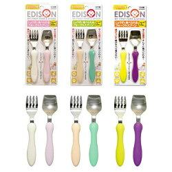 AKACHAN阿卡將EDISON 日本不鏽鋼叉匙組