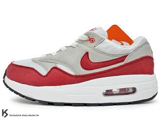 2017 台灣未發售 NSW 輕量舒適 小童專屬 NIKE AIR MAX 1 QS PS BP 小童鞋 童鞋 白紅 白灰紅 原版 OG 配色 326 輕量好穿 DAY (919891-101) !