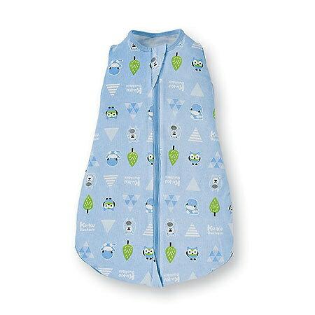 【淘氣寶寶】酷咕鴨 KUKU 超好眠懶人包巾 冬景湖藍