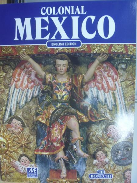 【書寶二手書T8/藝術_YCN】Colonial MEXICO