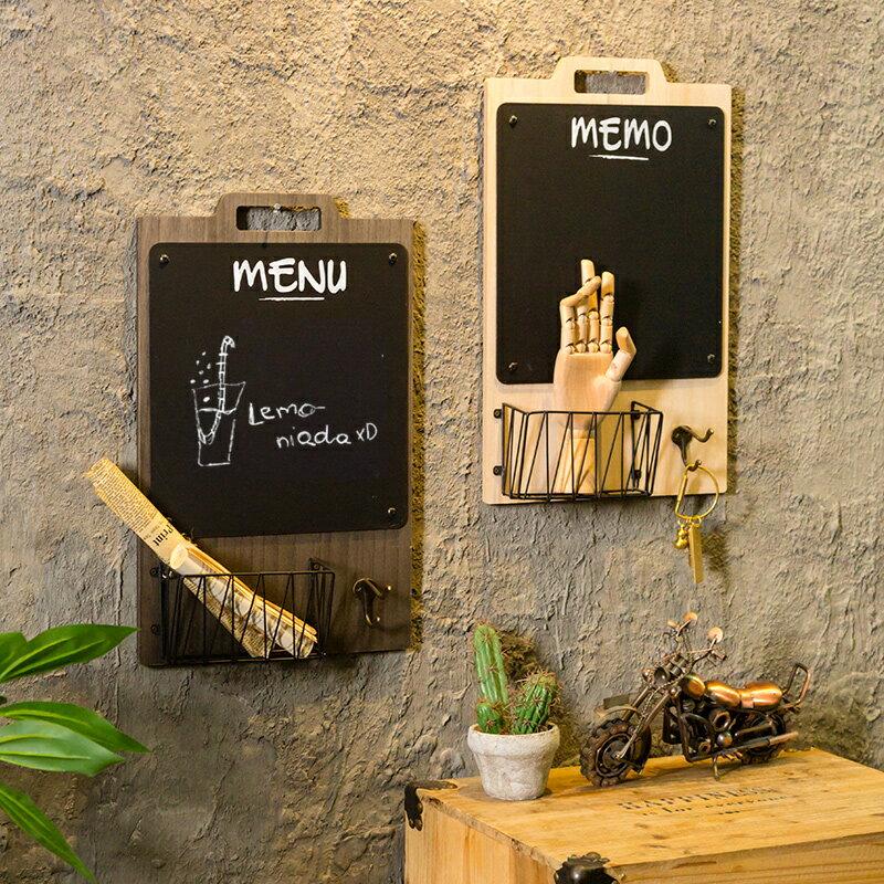 創意奶茶咖啡火鍋店牆面牆上留言板黑板掛飾餐廳牆壁小掛件裝飾品SGBS3 愛尚優品