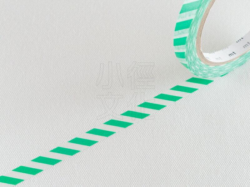 *小徑文化*日本和紙膠帶 mt sealer - 斜紋 . 綠 ( MTSEA038 )