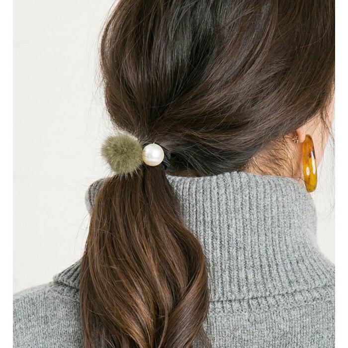 日本CREAM DOT  /  可愛毛毛髮圈 髮帶  /  qc0113  /  日本必買 日本樂天直送(990) 6