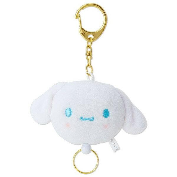 【真愛日本】16063000015伸縮鎖圈-CN大頭白  三麗鷗家 喜拿狗 大耳狗  吊飾 飾品 鑰匙圈 預購