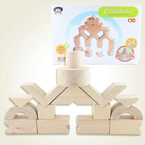 ~瑪琍歐玩具~小小建築師積木組  AC~1001