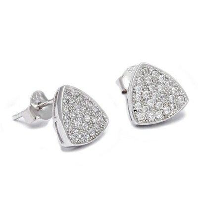 ~925純銀耳環鑲鑽耳飾~ 典雅 母親節生日情人節 女飾品73dm268~ ~~米蘭 ~