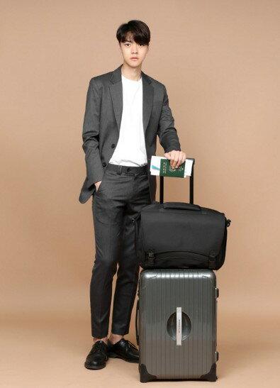 韓國4用包 後背 肩背 飛機包 託運包 功能筆電包 022-9729 4