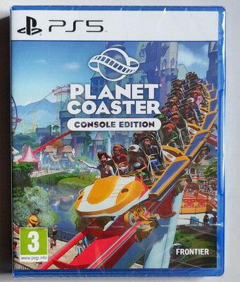 美琪PS5遊戲 過山車之星 Planet Coaster 過山車大亨4 中文英文