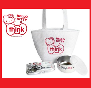 Thinkbaby x Hello Kitty 聯名餐具組 兒童餐具