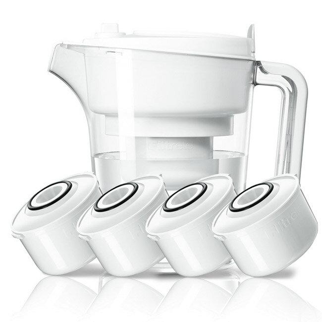 【3M】經典款即淨長效濾水壺WP3000(1壺+4濾心) 1