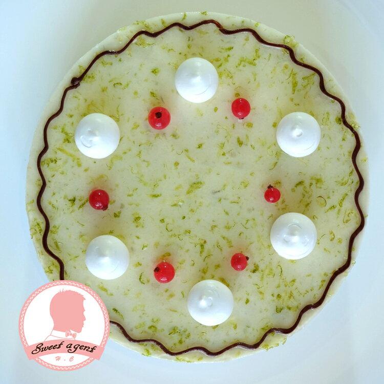 【甜點特務】[ 檸檬香草起士 ] 香草戚風蛋糕+現磨檸檬+香草慕思 6吋,母親節特別款,媽咪節我愛妳,媽咪不吃太甜的首選。 2