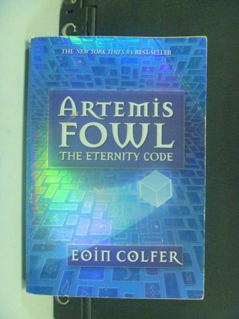 【書寶二手書T2/原文小說_JOI】The Eternity Code